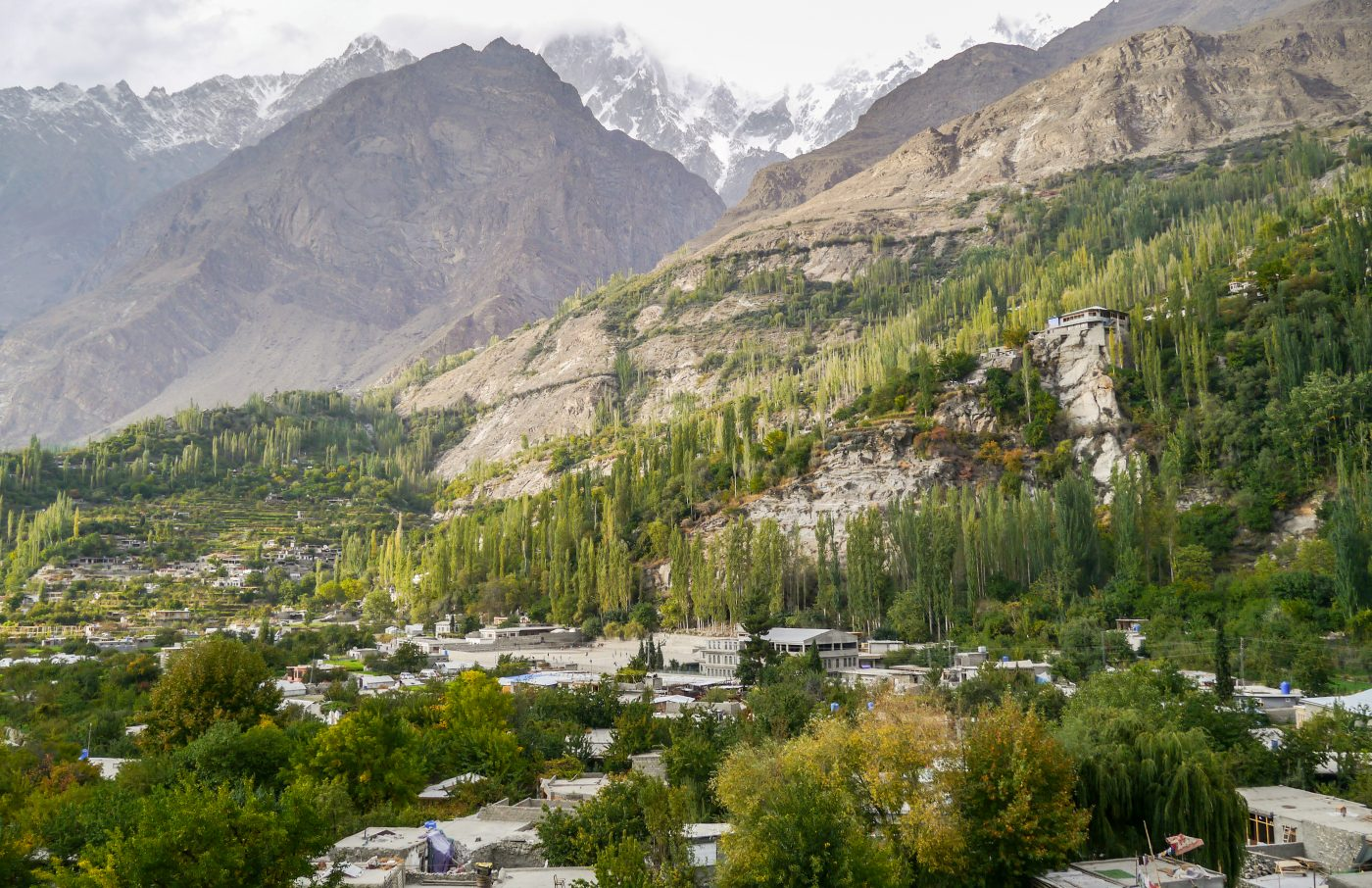 Karimabad Dolina Valley Pakistan