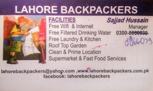 Lahore informacje praktyczne