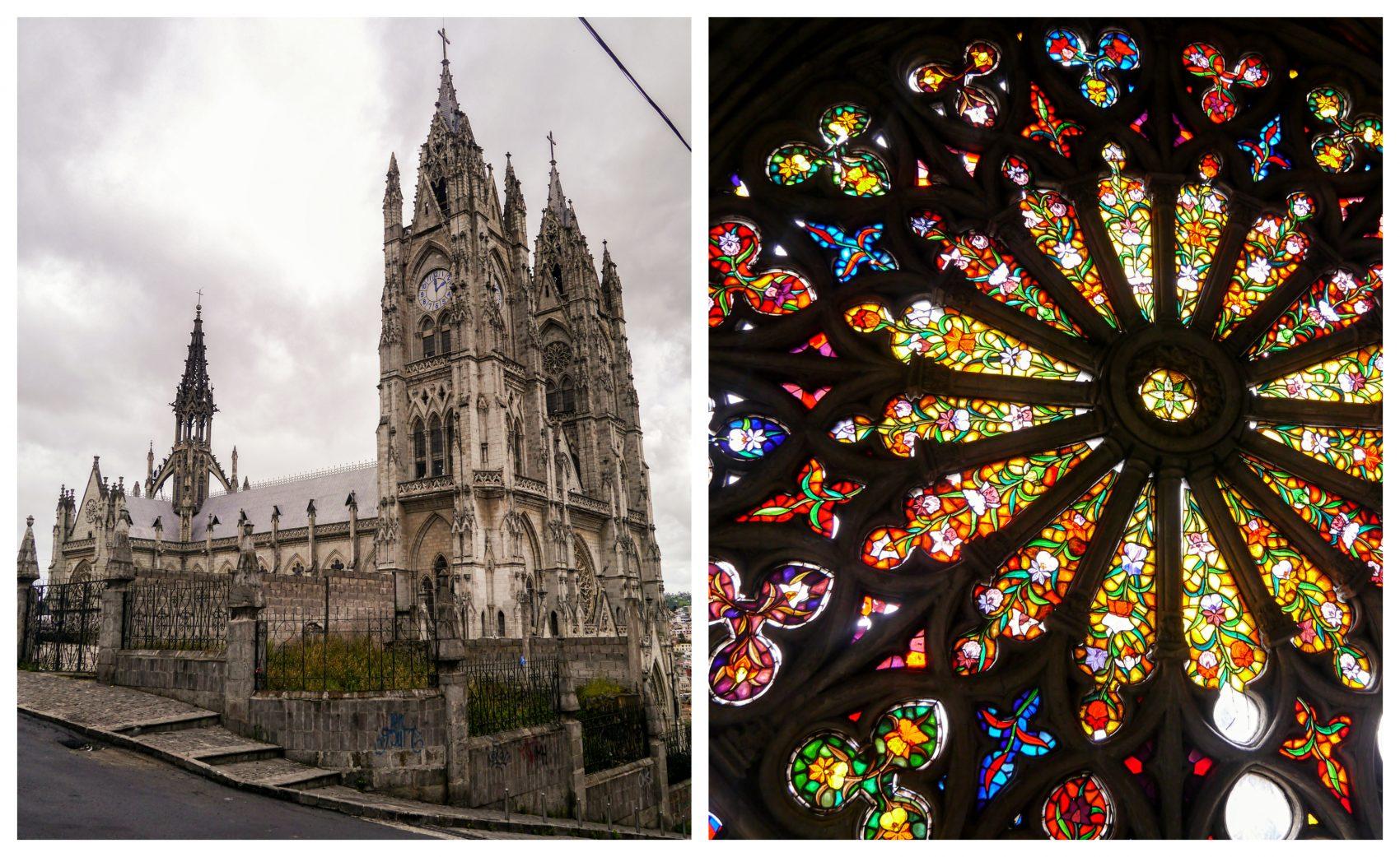 Quito. Basílica del Voto Nacional