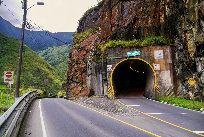 Banos Ekwador Ruta de las Cascadas