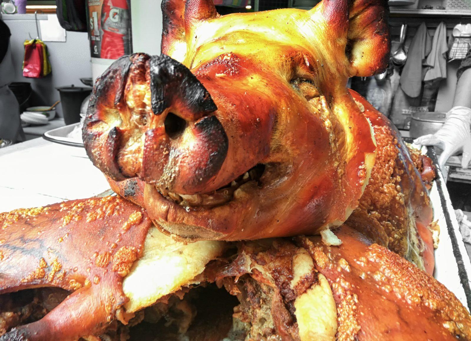 gdzie zjeść świnkę morską w Ekwadorze