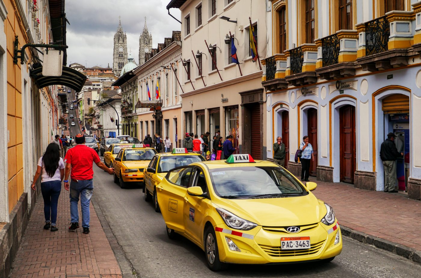 Quito relacja z Ekwadoru. Centro Histórico